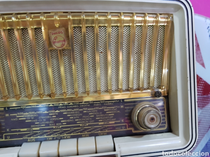 Radios antiguas: Radio Philips de 1958 PHILETTA - Foto 2 - 97791334