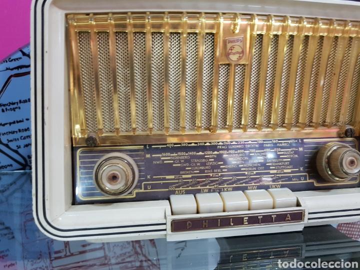 Radios antiguas: Radio Philips de 1958 PHILETTA - Foto 3 - 97791334