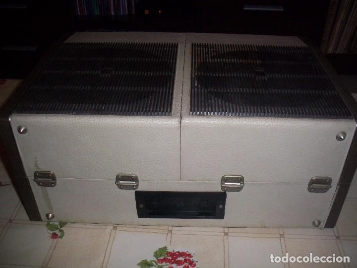 Radios antiguas: Tocadiscos portatil Koniger Faro 2500 Stereo con 2 altavoces divisibles . Funcionando. Ver detalles. - Foto 3 - 97794675