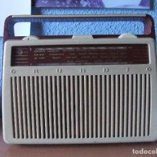 Radios antiguas: ANTIGUA Y RARA RADIO GRUNDIG AÑOS 60 FUNCIONANDO. Lote 98163591