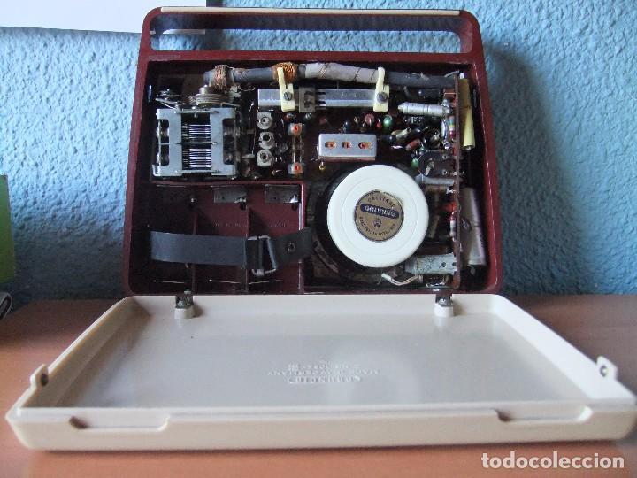 Radios antiguas: ANTIGUA Y RARA RADIO GRUNDIG AÑOS 60 FUNCIONANDO - Foto 7 - 98163591