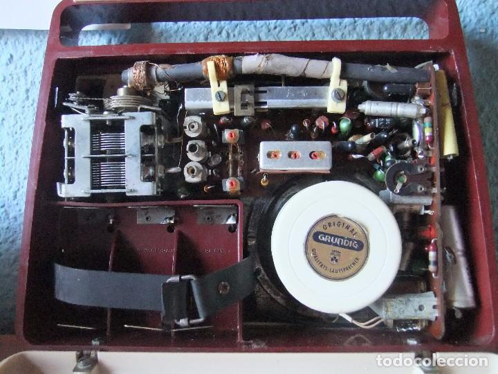 Radios antiguas: ANTIGUA Y RARA RADIO GRUNDIG AÑOS 60 FUNCIONANDO - Foto 8 - 98163591