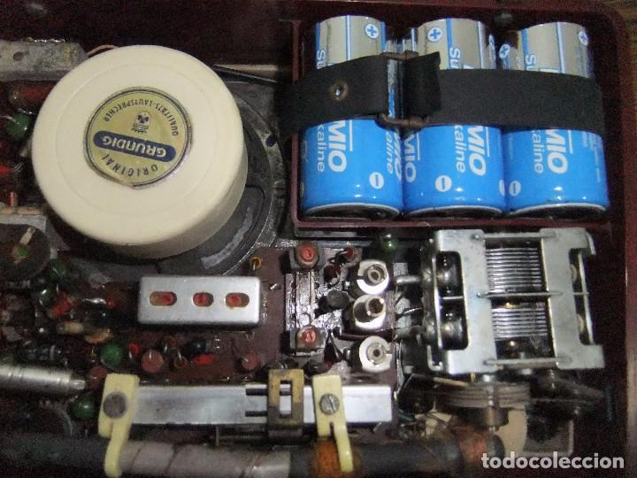 Radios antiguas: ANTIGUA Y RARA RADIO GRUNDIG AÑOS 60 FUNCIONANDO - Foto 9 - 98163591