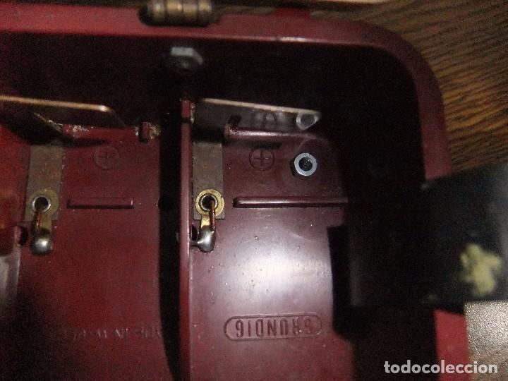 Radios antiguas: ANTIGUA Y RARA RADIO GRUNDIG AÑOS 60 FUNCIONANDO - Foto 10 - 98163591