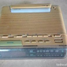 Radios antiguas: CURIOSO RADIO DESPERTADOR LAMPARA Y LINTERNA - LLOYD´S MODELO J 401 - AÑOS 70 - VER FOTOS. Lote 98488487