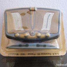 Radios antiguas: RADIO S.N.R. EXCELSIOR 55 FRANCE - 1955 - COLECCIÓN RADIOS DE ANTAÑO - PRECINTADO. Lote 98647531