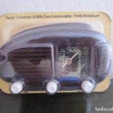 Radios antiguas: RADIO TESLA TALISMAN U308 - CZECHOSLOVAKIA - 1940 - COLECCIÓN RADIOS DE ANTAÑO - PRECINTADO. Lote 98648839