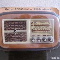 Radios antiguas: RADIO GELOSO 26G48 - ITALIA - 1954 - COLECCIÓN RADIOS DE ANTAÑO - PRECINTADO. Lote 98650119