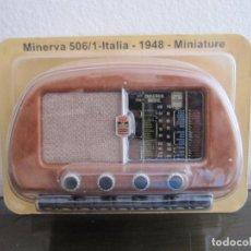 Radios antiguas: RADIO MINERVA 506/1 - ITALIA - 1948 - COLECCIÓN RADIOS DE ANTAÑO - PRECINTADO. Lote 98650471