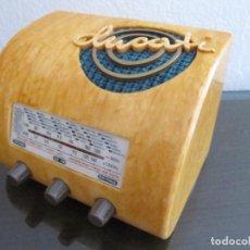 Radios antiguas: RADIO DUCATI RR3404 - ITALIA - 1940 - COLECCIÓN RADIOS DE ANTAÑO. Lote 98652379