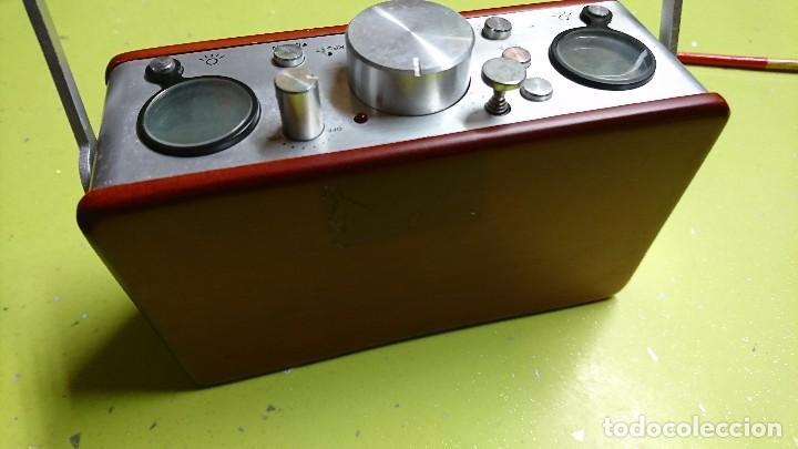 Radios antiguas: RADIO TRANSISTOR, CON RELOJ, TERMÓMETRO, FECHA... - Foto 5 - 98718271