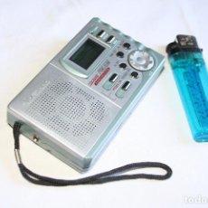 Radios antiguas: RADIO.MX ONDA.PORTATIL.A PILAS.MX-RD921.FM.AM.RELOJ.ANTENA.COLECCIONISTA.FUNCIONA. Lote 98794591