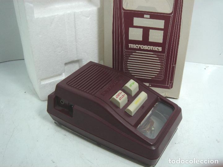SISTEMA DE REPRODUCCION AUDIO DISCOS - MICROSONICS MS-400+ CAJA- TIPO SONOBOX ¡¡FUNCIONANDO¡¡¡ MS400 (Radios, Gramófonos, Grabadoras y Otros - Transistores, Pick-ups y Otros)