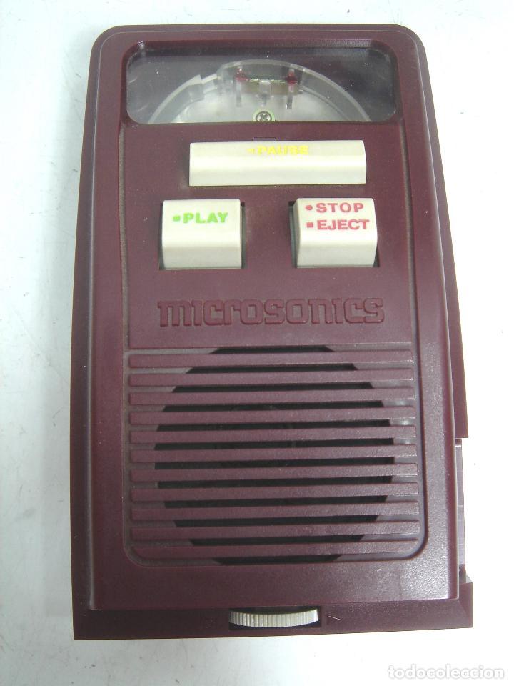 Radios antiguas: SISTEMA DE REPRODUCCION AUDIO DISCOS - MICROSONICS MS-400+ CAJA- TIPO SONOBOX ¡¡FUNCIONANDO¡¡¡ MS400 - Foto 2 - 98887907