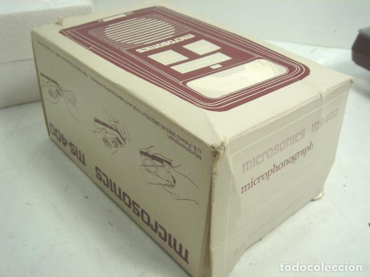 Radios antiguas: SISTEMA DE REPRODUCCION AUDIO DISCOS - MICROSONICS MS-400+ CAJA- TIPO SONOBOX ¡¡FUNCIONANDO¡¡¡ MS400 - Foto 8 - 98887907