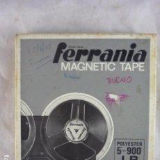 Radios antiguas: CINTA MAGNETOFONO FERRANIA 5-900 LP. Lote 98888467