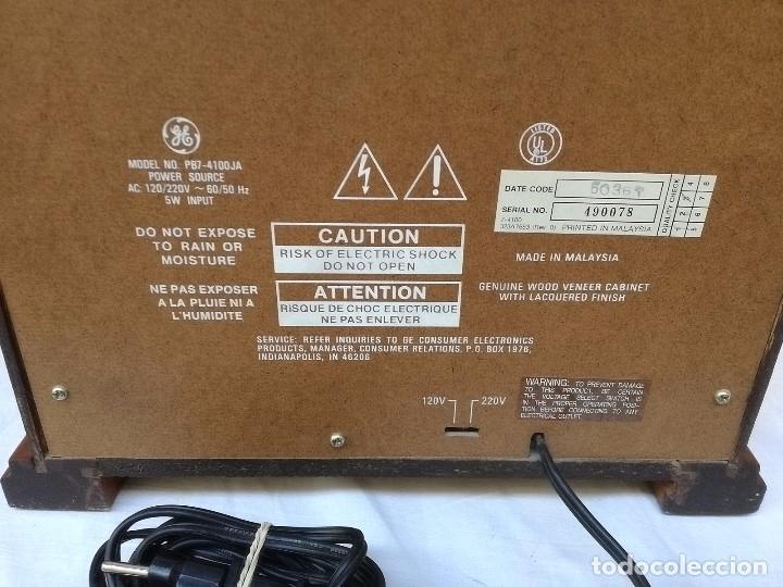 Radios antiguas: Radio General Electric retro - Foto 5 - 99049403