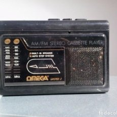Radios antiguas: WALMAN - OMEGA WHISPER2.. Lote 99175035