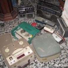Radios antiguas: GRAN LOTE DE RADIOS TRANSISTORES Y GRABADORAS DE CINTAS INGRA - GRUNDIG TK 20 - GELOSO -. Lote 99544351
