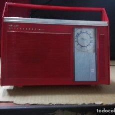 Radios antiguas: RADIO TRANSISTOR VANGUARD SOLID STATE FUNCIONA ORIGINAL. Lote 99599847