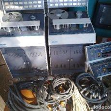 Radios antiguas: 2X MAGNETÓFONO STUDIO MAGNETICS AR2400 + CONTROL REMOTO + 38 CINTAS. Lote 99631691