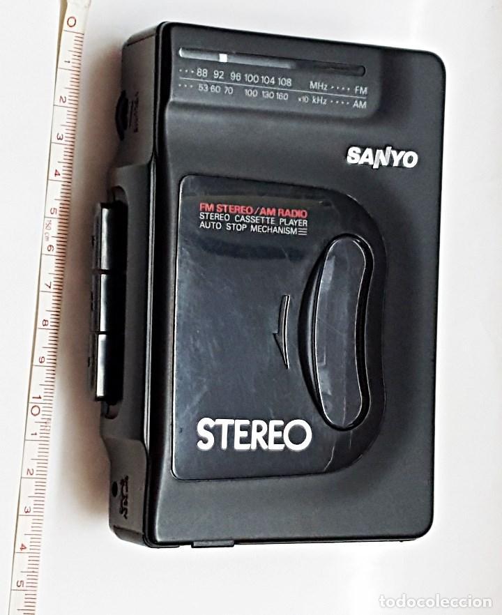 WALKMAN SANYO RADIO-CASETE MGR-701 (Radios, Gramófonos, Grabadoras y Otros - Transistores, Pick-ups y Otros)