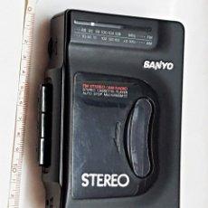 Radios antiguas: WALKMAN SANYO RADIO-CASETE MGR-701. Lote 234824495