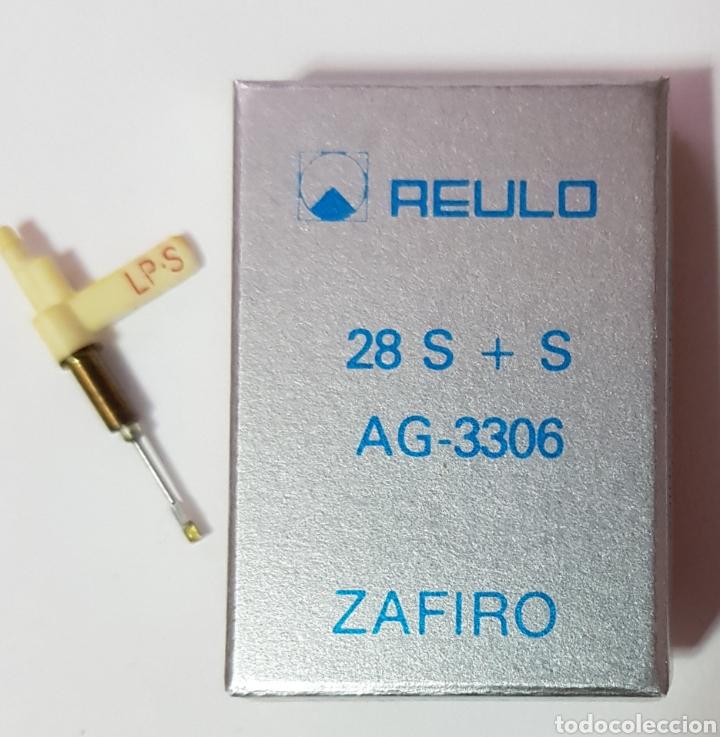 Radios antiguas: Aguja de tocadiscos Reulo. 91-D - Foto 2 - 118897166