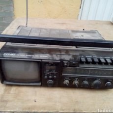 Radios antiguas: ANTIGUO RADIO CASETE CON TV. Lote 100517696
