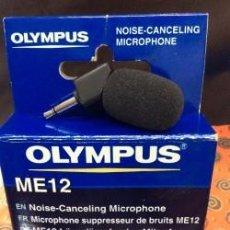 Radios antiguas: MINI MICROFONO OLYMPUS ME 12 !! NUEVO !. Lote 101244275