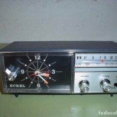 Radios antiguas: RADIO RELOJ ECREL. Lote 101407627