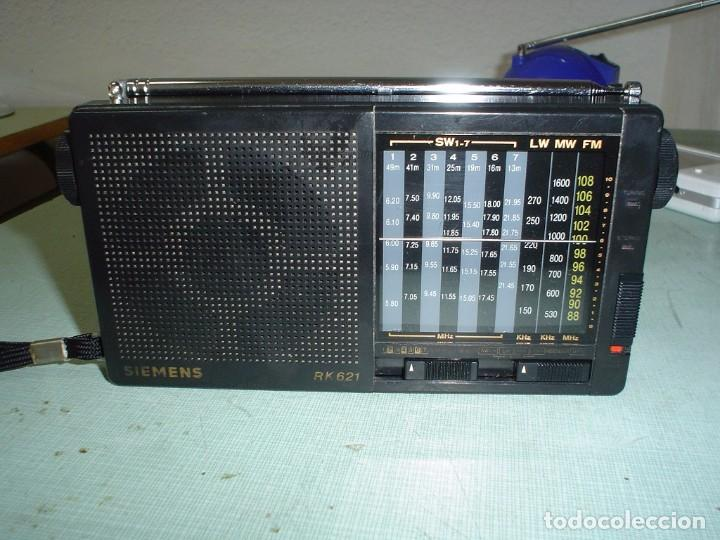 RADIO MULTIBANDAS SIEMENS RK- 621 (Radios, Gramófonos, Grabadoras y Otros - Transistores, Pick-ups y Otros)