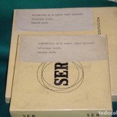 Radios antiguas: LA SER - RADIO BARCELONA - CONFERENCIA DE D. MANUEL TARIN IGLESIAS. Lote 101701607