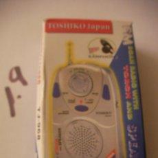 Radios antiguas: RADIO TRANSISTOR NUEVO EN SU CAJA. Lote 101745511