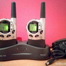 Radios antiguas: TOPCOM 1100 WALKIE TALKIE. Lote 101978487