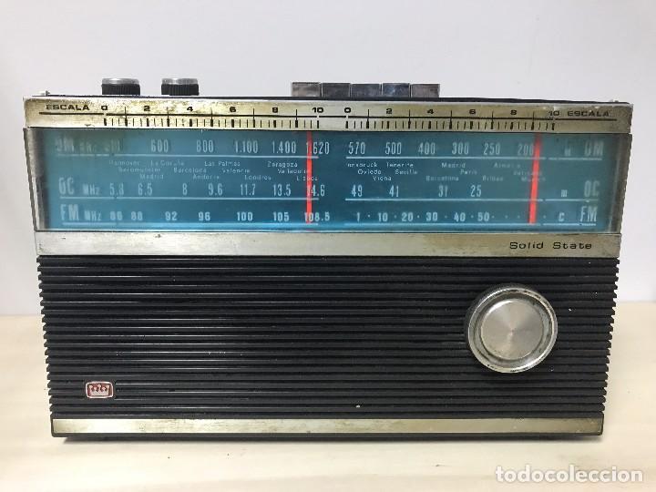 ANTIGUA RADIO TRANSISTOR FM-AM (Radios, Gramófonos, Grabadoras y Otros - Transistores, Pick-ups y Otros)