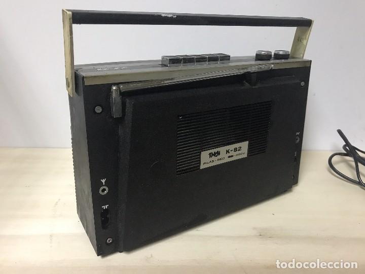 Radios antiguas: ANTIGUA RADIO TRANSISTOR FM-AM - Foto 8 - 102357791