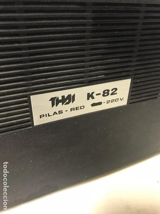Radios antiguas: ANTIGUA RADIO TRANSISTOR FM-AM - Foto 10 - 102357791