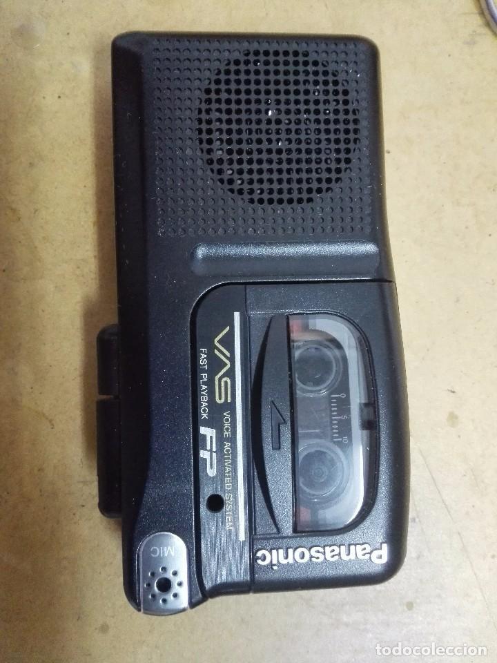 Radios antiguas: Microcassette Record Panasonic Model RN 30 - Foto 3 - 103056879