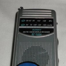 Radios antiguas: RADIO SONY SUNNY REF. 920V. Lote 103145783
