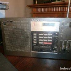 Radios antiguas: SONY ICF-2001 FM/AM RADIO RECEPTOR MUNDIAL SINTETIZADO FUNCIONANDO . Lote 103149531