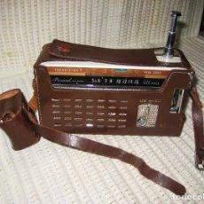 Radios antiguas: TRANSISTOR PORTÁTIL JAPONÉS SANYO MOD. 7S-P6 DEL AÑO 1960. VINTAGE.. Lote 103239663