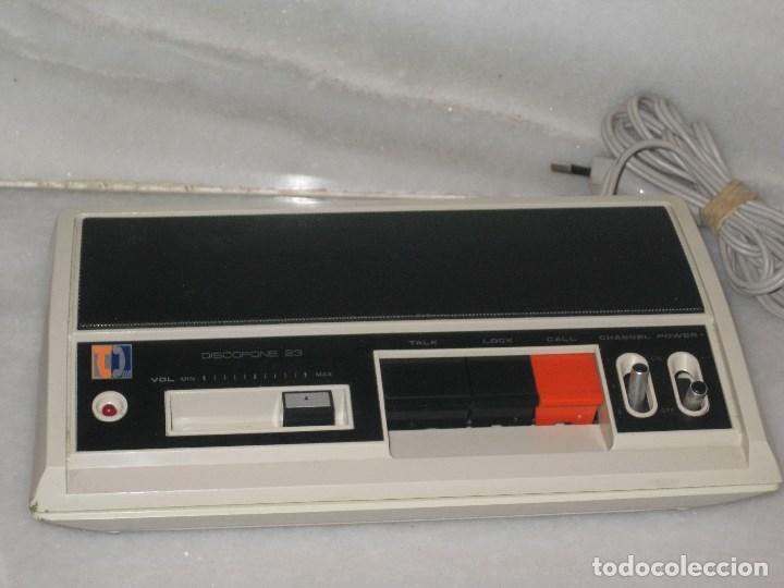 Radios antiguas: Intercomunicadores Vintage intercomunicador discofone 23.Funcionando. - Foto 2 - 103398807