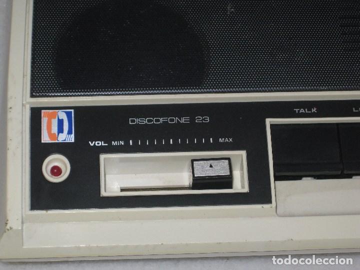 Radios antiguas: Intercomunicadores Vintage intercomunicador discofone 23.Funcionando. - Foto 4 - 103398807
