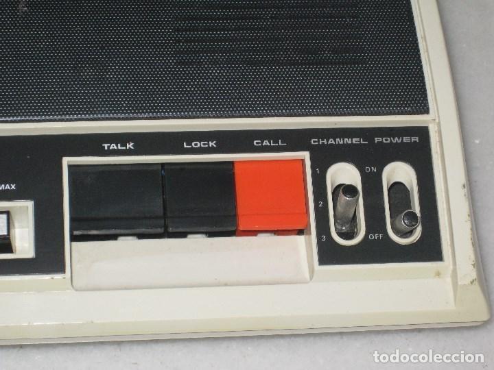 Radios antiguas: Intercomunicadores Vintage intercomunicador discofone 23.Funcionando. - Foto 5 - 103398807