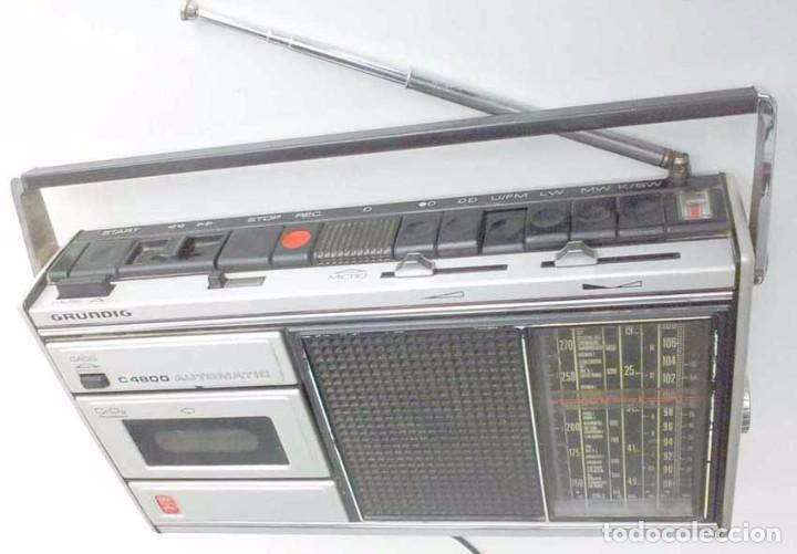RADIO GRUNDIG C4300 FUNCIONANDO (Radios, Gramófonos, Grabadoras y Otros - Transistores, Pick-ups y Otros)
