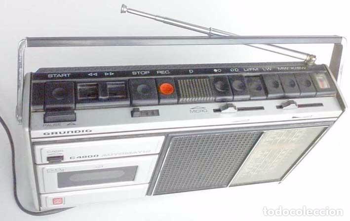 Radios antiguas: RADIO GRUNDIG C4300 FUNCIONANDO - Foto 3 - 103468299