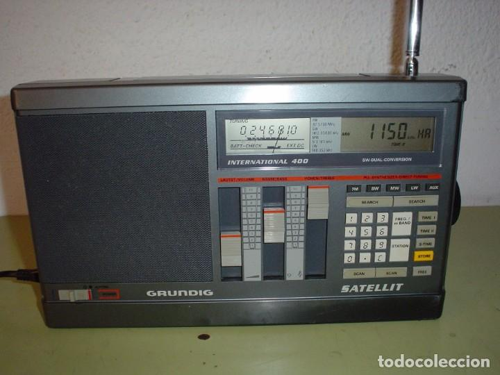 Radios antiguas: RADIO MULTIBANDAS GRUNDIG SATELLIT INTERNATIONAL 400 - Foto 1 - 103533611