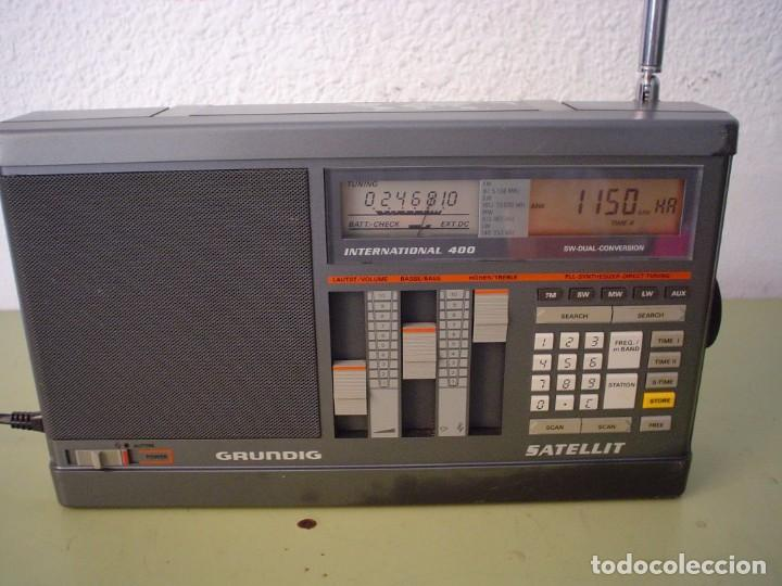 Radios antiguas: RADIO MULTIBANDAS GRUNDIG SATELLIT INTERNATIONAL 400 - Foto 5 - 103533611