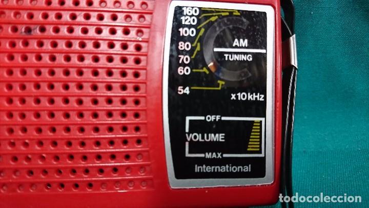 Radios antiguas: RADIO TRANSISTOR INTERNATIONAL - Foto 2 - 103701775